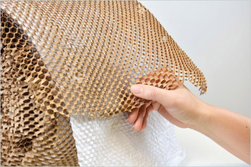 Paper Bubble Wrap Alternative